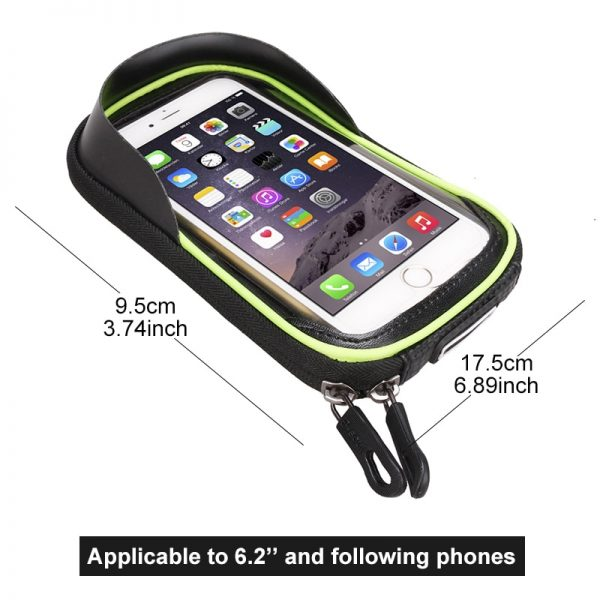 Bicycle Bag with Phone Holder 4