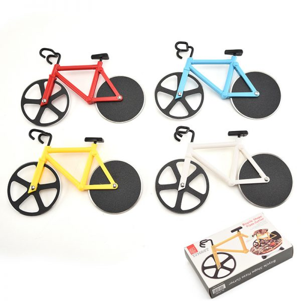 Bicycle Pizza Cutter Roller Knife 2