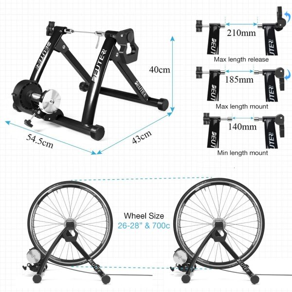 Bicycle Trainer Stand Adjustable Resistance 2