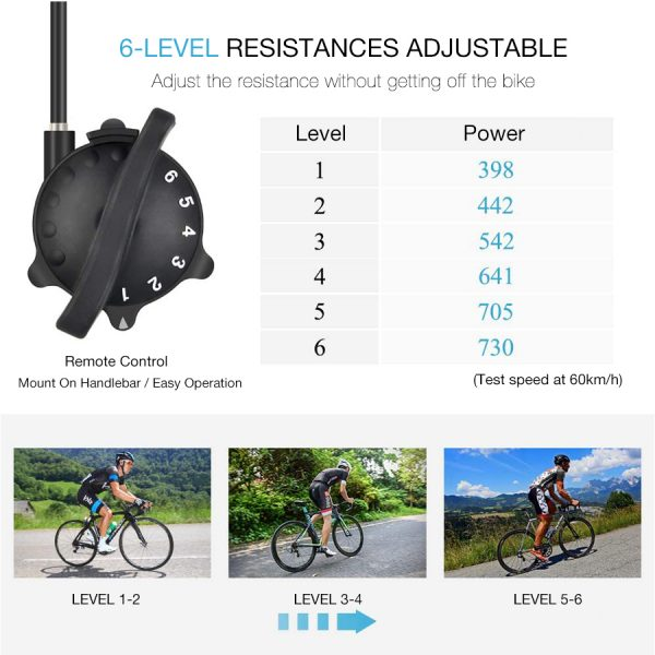 Bicycle Trainer Stand Adjustable Resistance 3