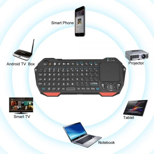 Bluetooth Keyboard and Mouse Portable 3