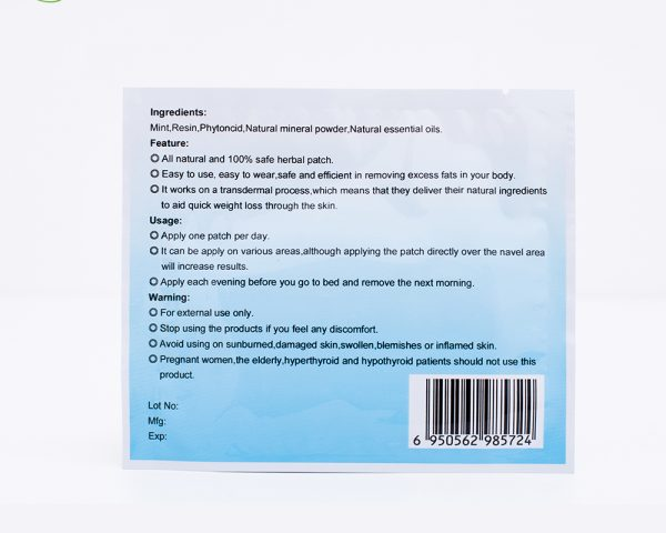 Body Contouring Navel Patch Set of 50 1