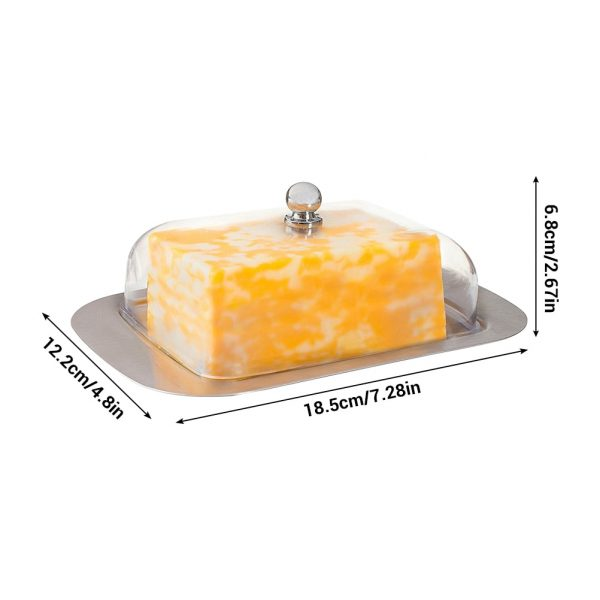 Butter Dish with Lid Food Container 1