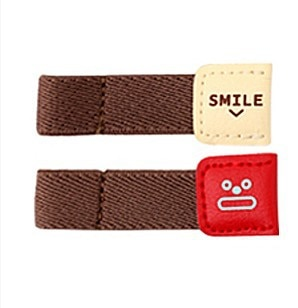 Cable Winders 6PCs Leather Holders 4