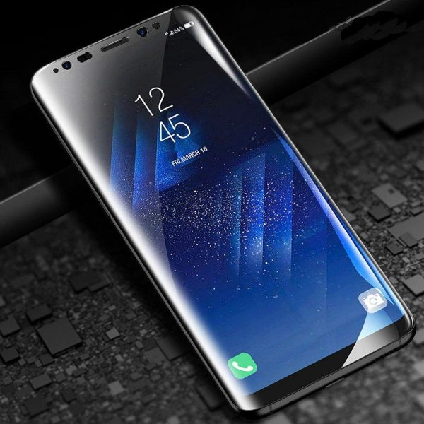 Cafele Anti Blue Light Hydrogel Screen Protector For Samsung Galaxy S8 Plus Clear 3D Curved Edge 2