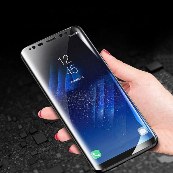 Cafele Anti Blue Light Hydrogel Screen Protector For Samsung Galaxy S8 Plus Clear 3D Curved Edge 3