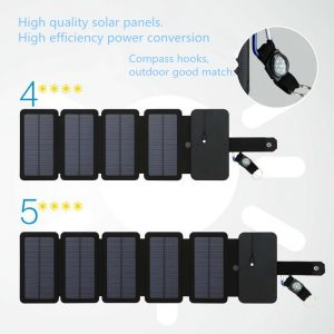 Camping Solar Charger Folding Panels