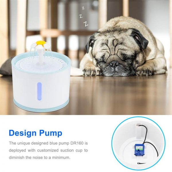 Cat Drinking Fountain Electric Water Dispenser 3