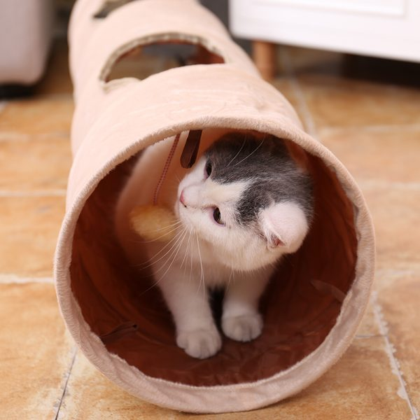Cat Tunnel Foldable Interactive Toy 1