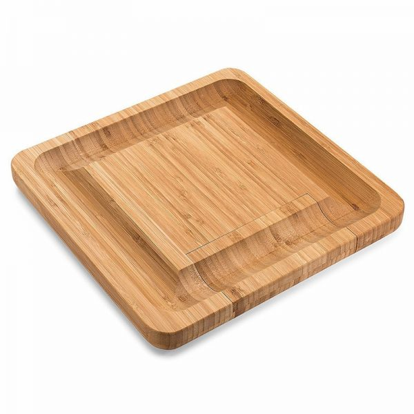 Cheese Board with Knives Wooden Board 1