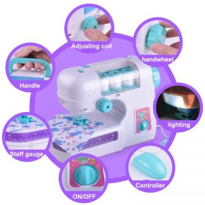 Children's Sewing Machine (Battery-Operated)