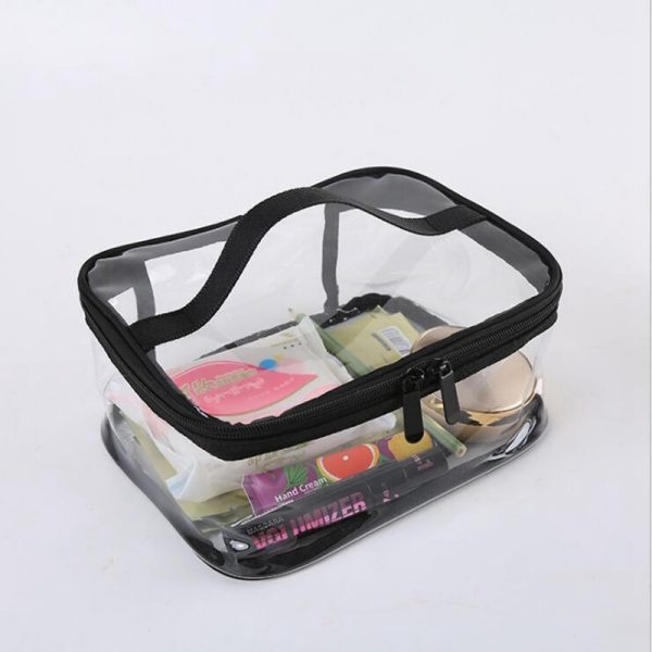 Clear Cosmetic Bags Portable Toiletry Organizer 2
