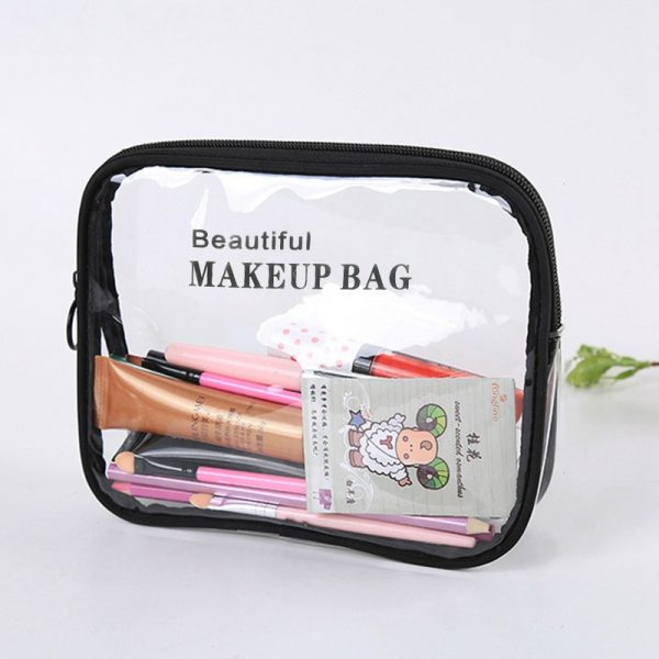 Clear Cosmetic Bags Portable Toiletry Organizer 3
