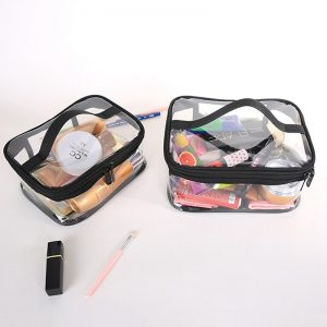 Clear Cosmetic Bags Portable Toiletry Organizer