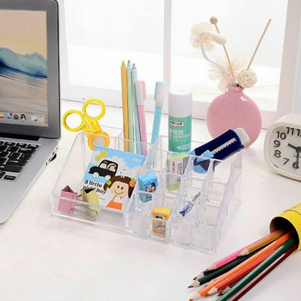Clear Makeup Organizer Cosmetic Holder 3