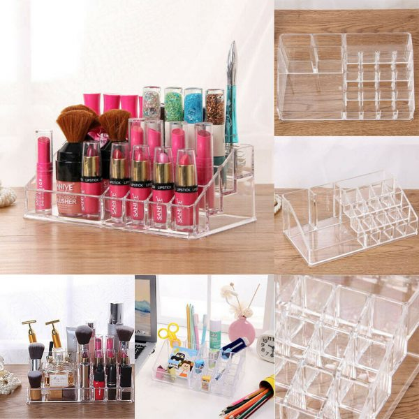 Clear Makeup Organizer Cosmetic Holder