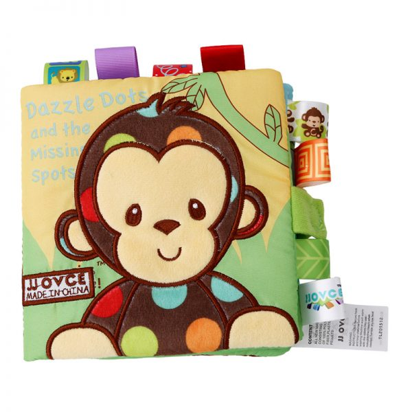 Cloth Books for Babies with Rattle 1