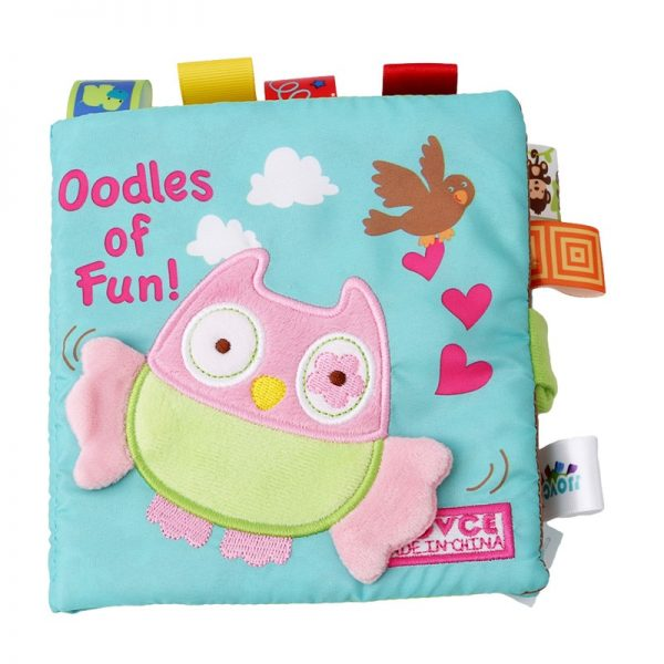Cloth Books for Babies with Rattle 2