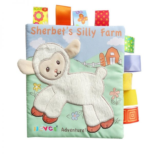 Cloth Books for Babies with Rattle 4