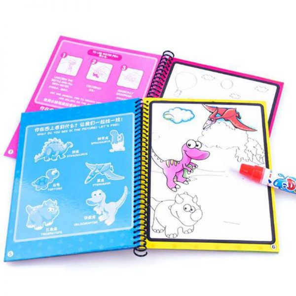 Coloring Book For Kids Drawing Board 2