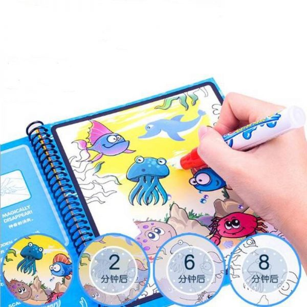 Coloring Book For Kids Drawing Board 3