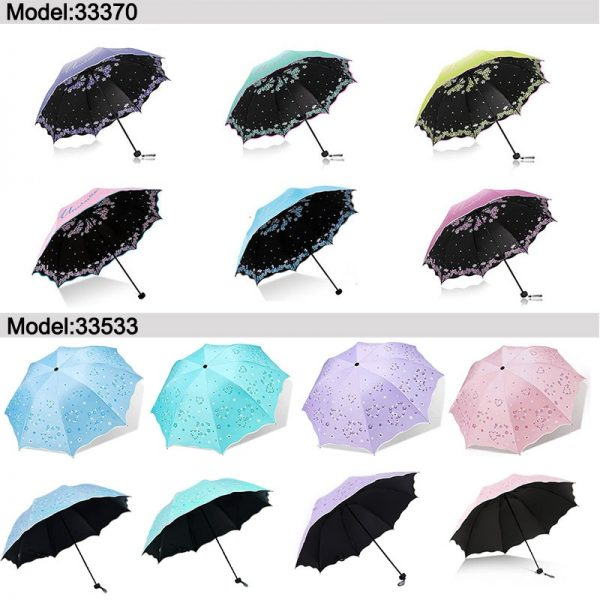 Compact Umbrella Windproof Foldable Brolly 1