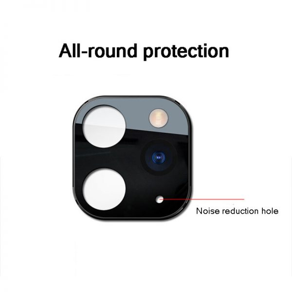 Converted Change iP X XS XS Max to iP 11 Pro Metal Tempered Glass 2 in 1 Anti Scratch Phone Camera Lens Protector 3