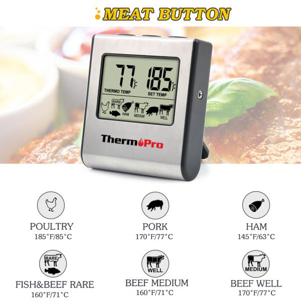 Cooking Thermometer Digital Timer 1
