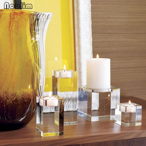 Crystal Candle Holder Decorative Stand 1