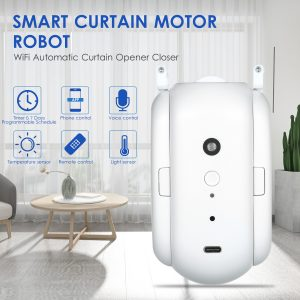 Curtain Robot Smart Automatic Wireless Smart Curtain Motor Timer Pack of 1 or 2