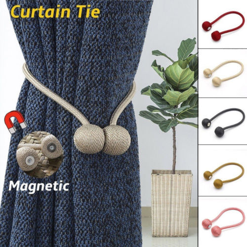 Curtain Tie Backs Magnetic Pearl Ball 4