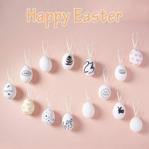 DIY Easter Eggs 50pcs with Color Pens 1