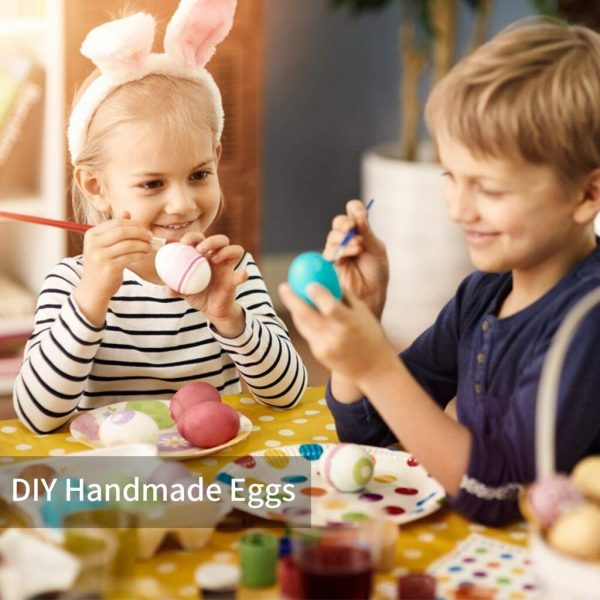 DIY Easter Eggs 50pcs with Color Pens 2