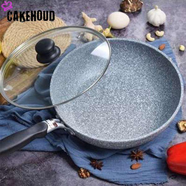 Deep Frying Pan Nonstick Cookware 1