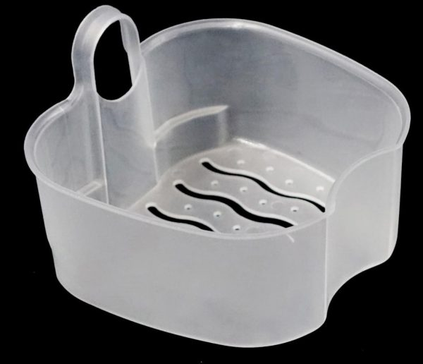Denture Case with Hanging Net Container