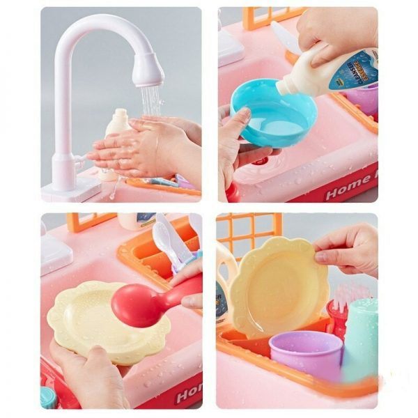 Dishwasher Toys Children Play Better Cute Sink Toys By Hand 1