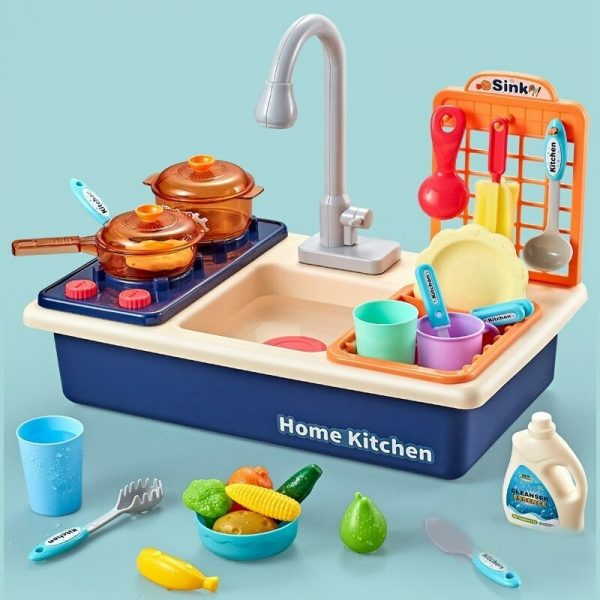Dishwasher Toys Children Play Better Cute Sink Toys By Hand 5