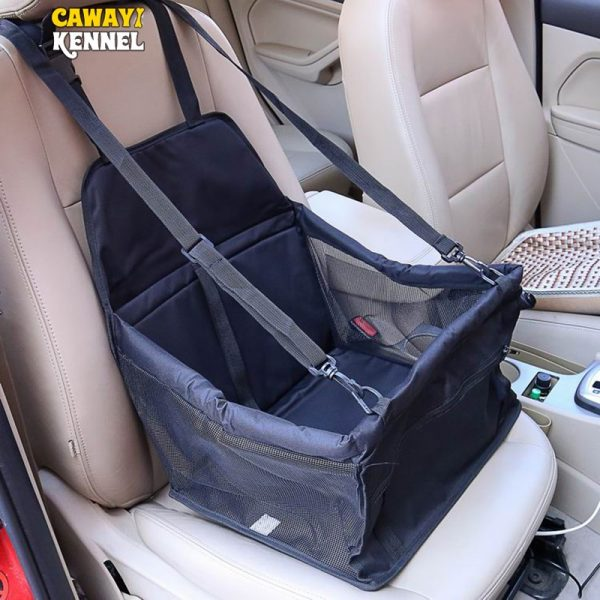 Dog Car Carrier Foldable Seat Carrier 2