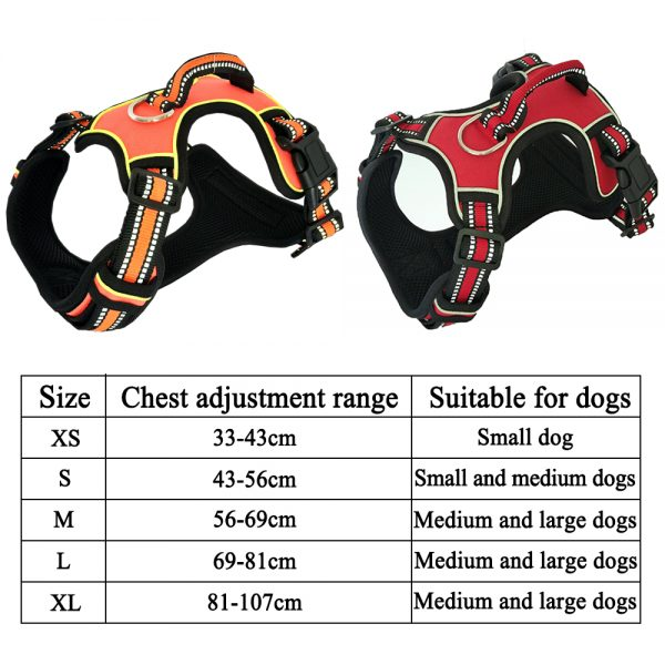 Dog Harness With Handle Soft Padded Strap 4