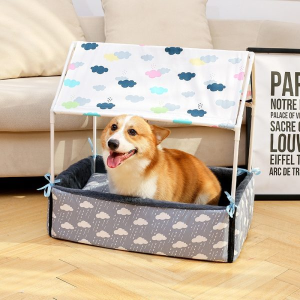 Dog Tent Bed Cozy Pet House 1
