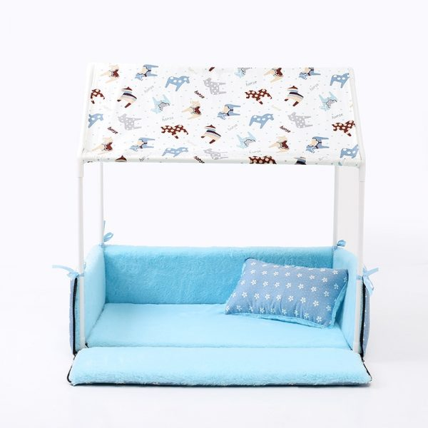 Dog Tent Bed Cozy Pet House 4