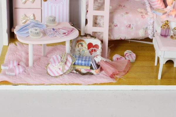 Doll House For Kids DIY Miniature Puzzle 4