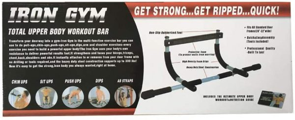 Door Frame Pull Up Bar Indoor Exercise Tool 2