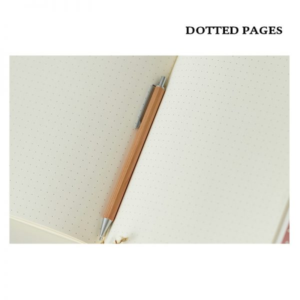 Dot Grid Notebook Soft Cover 4