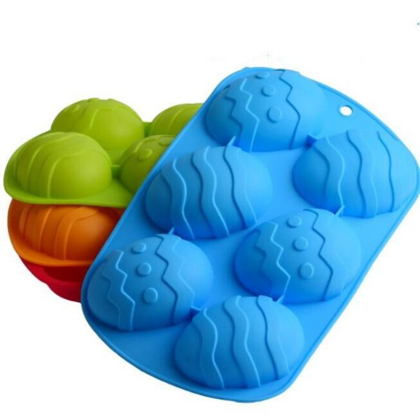 Easter Egg Mould Silicone Kitchen Tool 1