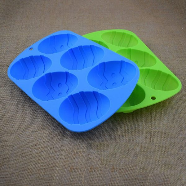 Easter Egg Mould Silicone Kitchen Tool 2