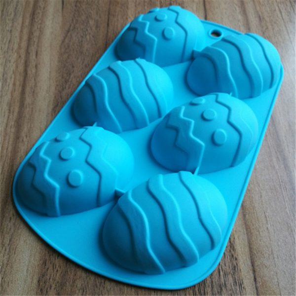 Easter Egg Mould Silicone Kitchen Tool 3