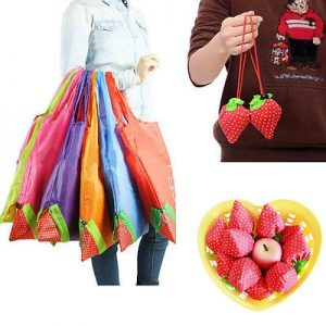 Eco Bag Strawberry-Shaped Container
