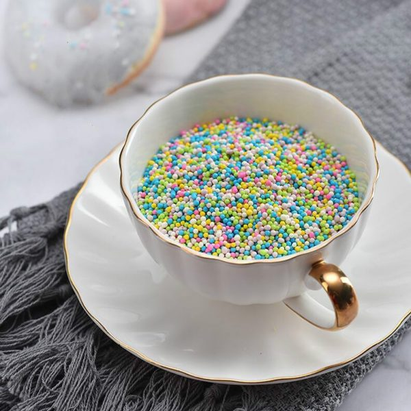 Edible Pearls Colorful Pastry Decoration 4