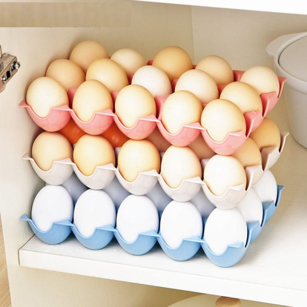 Egg Container 15-Grid Tray